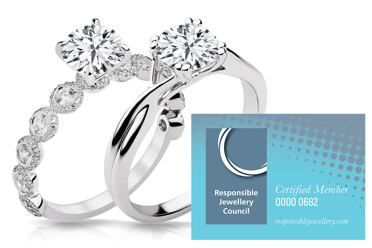 each jewellery ah steel dp simulated diamond stainless within entwined quality brilliant set ae rounds highest ring